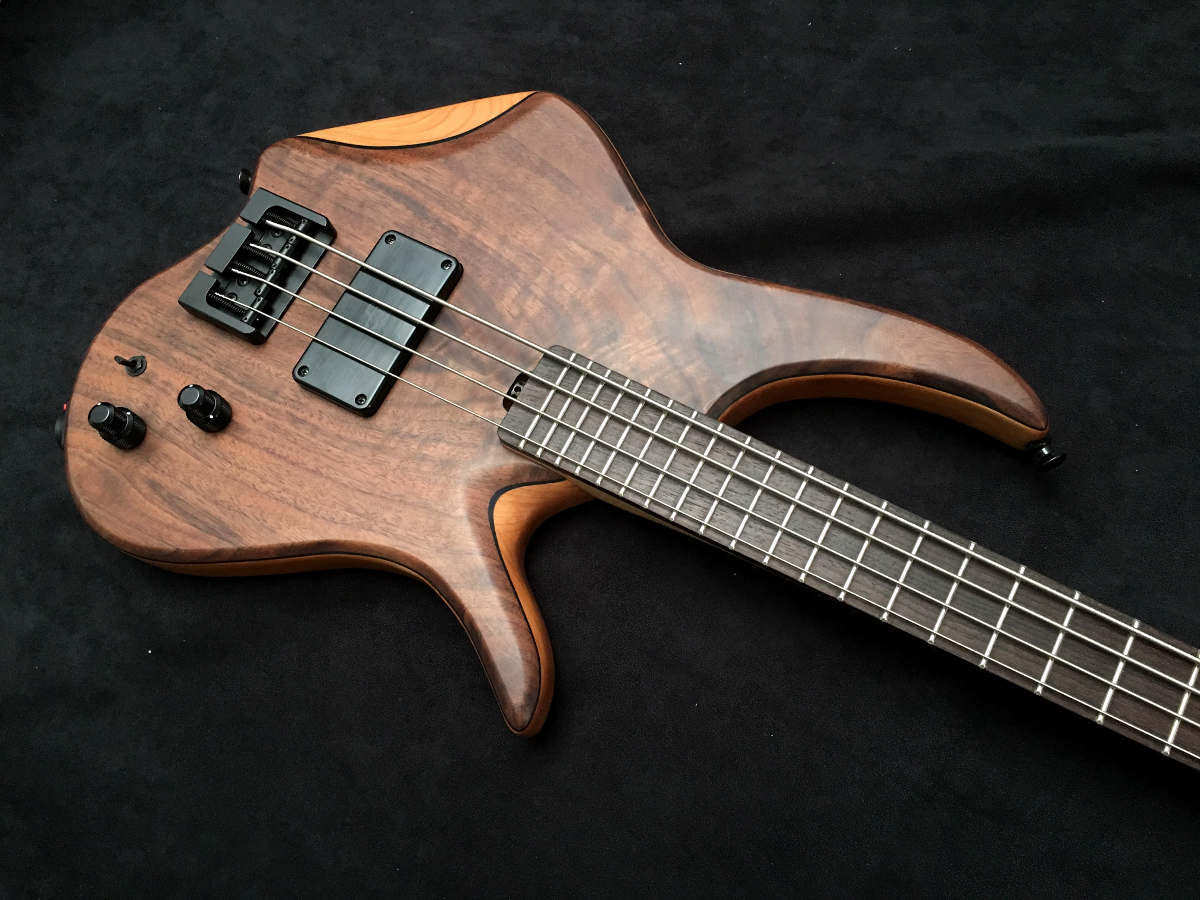AC Guitars Micro Krell Bass Body Angle