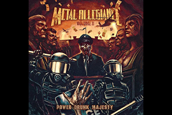 "Metal Allegiance Releases ""Volume II: Power Drunk Majesty"""
