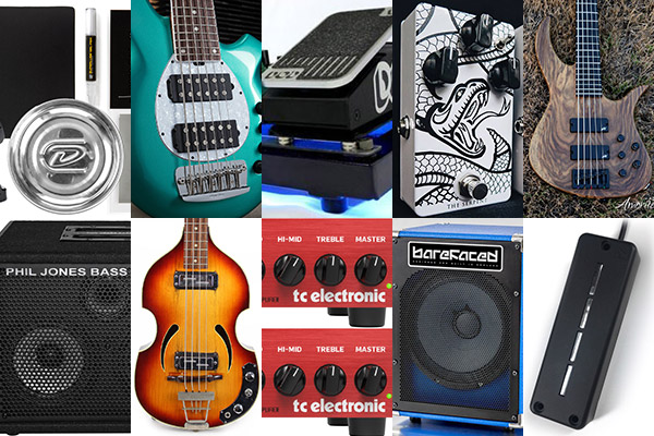 Bass Gear Roundup: The Top Gear Stories in August 2018