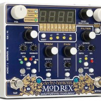 Electro-Harmonix Announces the Mod Rex Polyrhythmic Modulator Pedal