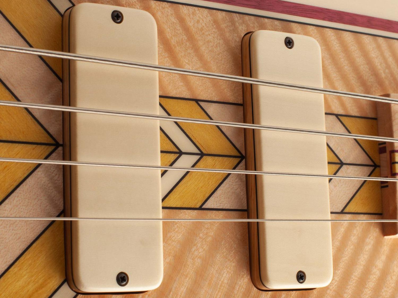 Fodera Masterbuilt Prairie Bass Pickups