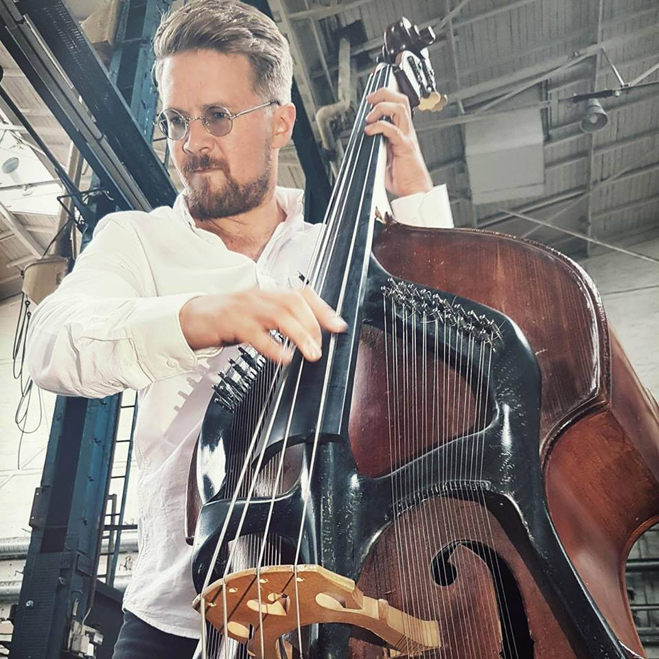 Joel Illerhag with Swedish Harp Bass