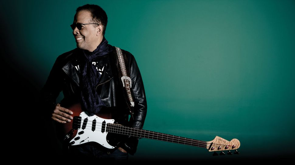 Stanley Clarke with Strat Bass