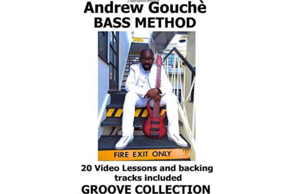 Andrew Gouché Releases Book of 20 Groove Lessons