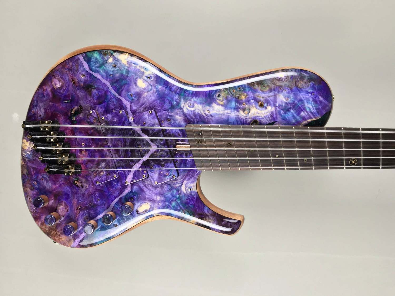 DTC Bass Guitars 5-String Multiscale Singlecut Bass Body