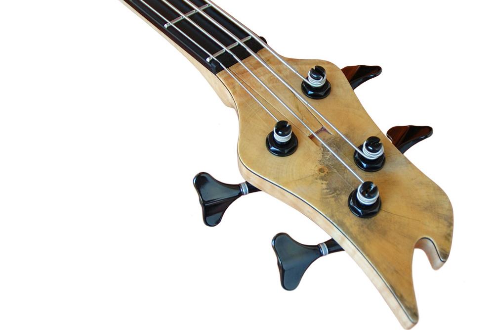 Ele Basses Naga Bass Headstock
