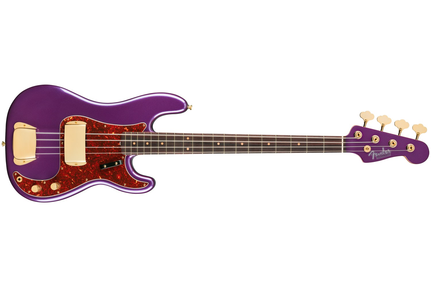 Fender Limited Edition Midnight Hour Precision Bass Front