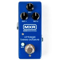 MXR Releases the Vintage Bass Octave Pedal
