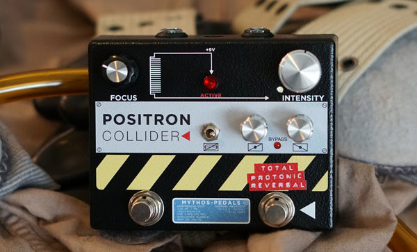 Mythos Pedals Introduces Ghostbusters-Inspired Positron Collider Fuzz Pedal