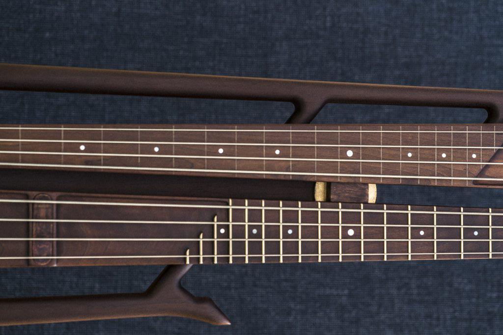 Nordic Guitars Rotator Bass Closeup