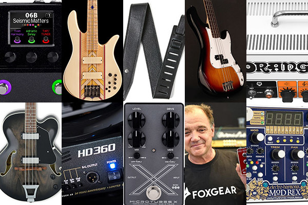 Bass Gear Roundup: The Top Gear Stories in October 2018