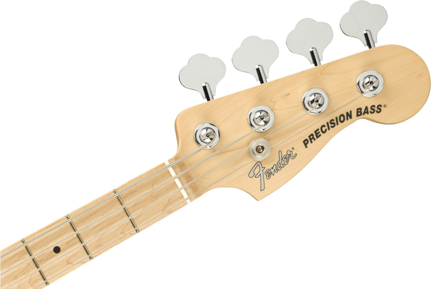 Fender American Performer Precison Bass Headstock