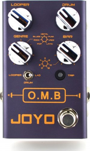 JOYO O.M.B. Looper/Drum Machine Pedal