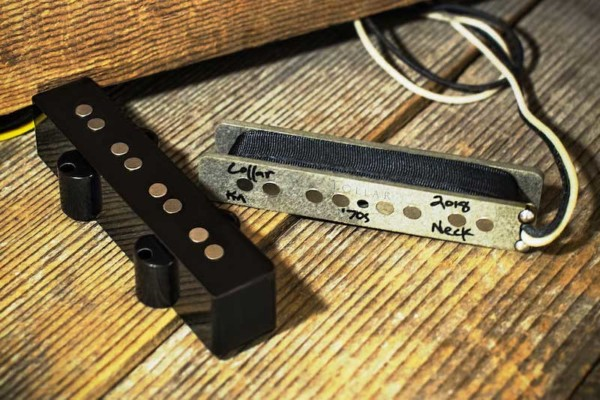 Lollar Pickups Introduces '70s J-Bass Pickup Set