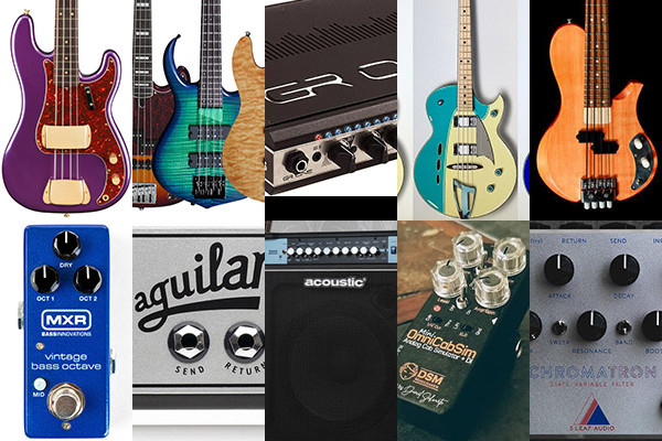 Bass Gear Roundup: The Top Gear Stories in November 2018