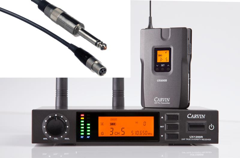 Carvin UX1200BGT Wireless System