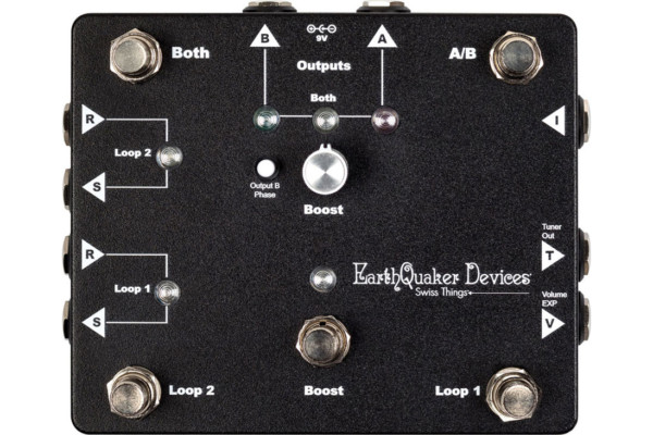 EarthQuaker Devices Introduces the Swiss Things Pedalboard Reconciler Pedal