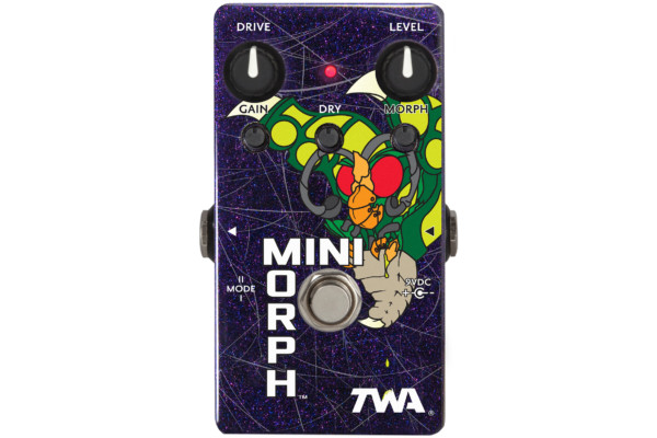 Godlyke Introduces the TWA MiniMorph Dynamic Waveshaper Pedal