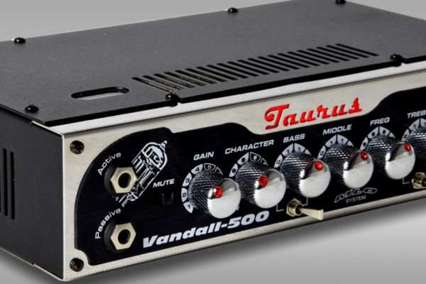 Taurus Announces the Vandall-500 Bass Amp