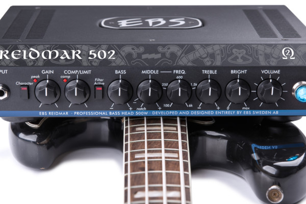 EBS Announces the Reidmar 502 Bass Amplifier