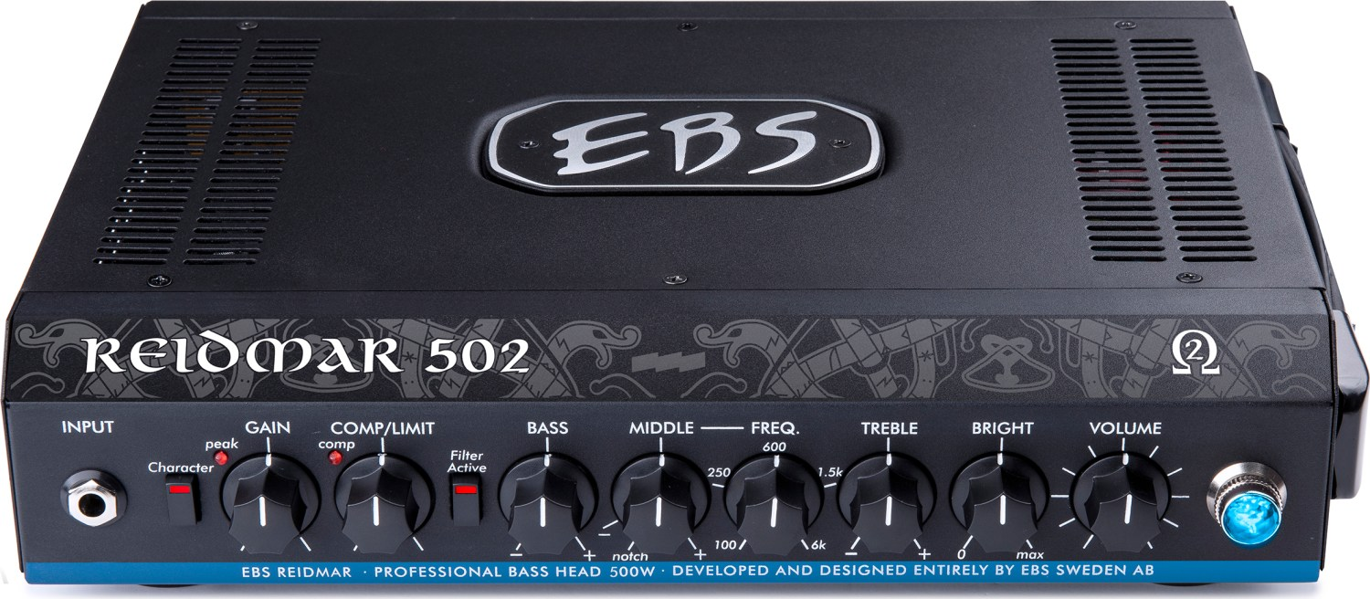 EBS Reidmar 502 Bass Amplifier