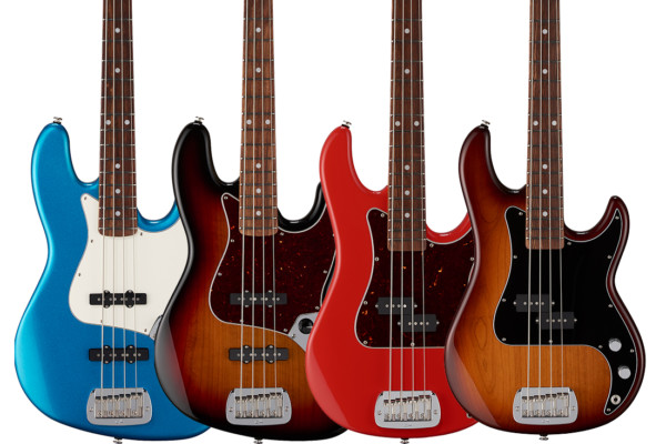 G&L Introduces the Fullerton Deluxe Bass Series
