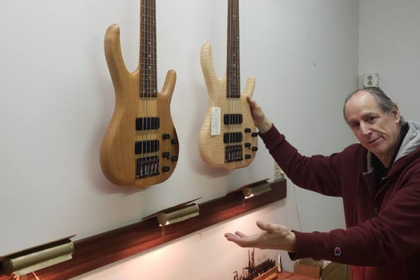 Ken Smith USA Basses to be Produced by Brubaker Guitars