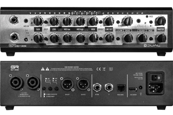 GR Bass Announces the Dual800 and Dual1400 Bass Amps