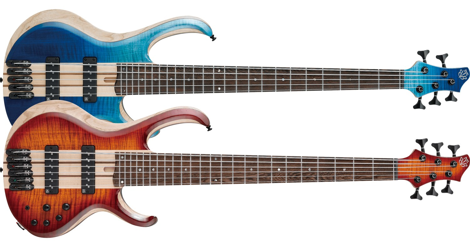 Ibanez 20th Anniversary BTB Bass Models