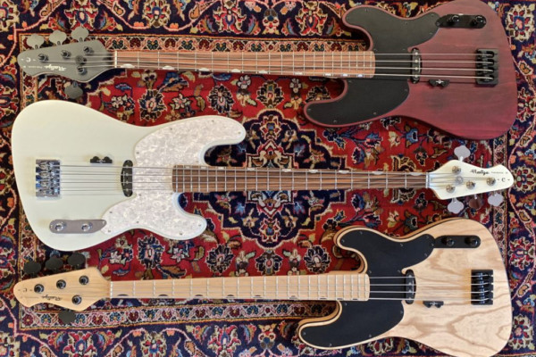 Prestige Guitars Unveils the Eric Bass Signature Bass