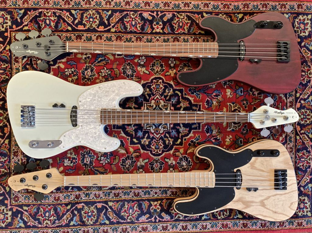 Prestige Guitars Eric Bass Signature Basses