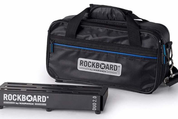 Rockboard Announces DUO 2.0 Pedalboard