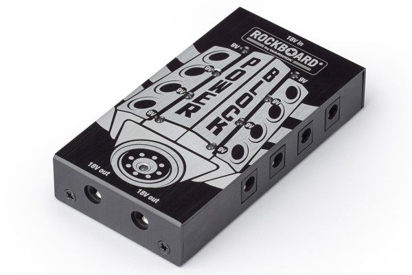 Rockboard Announces the Power Block Pedal Power Supply