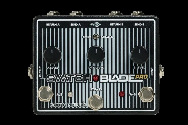 Electro-Harmonix Now Shipping Switchblade Pro Pedal