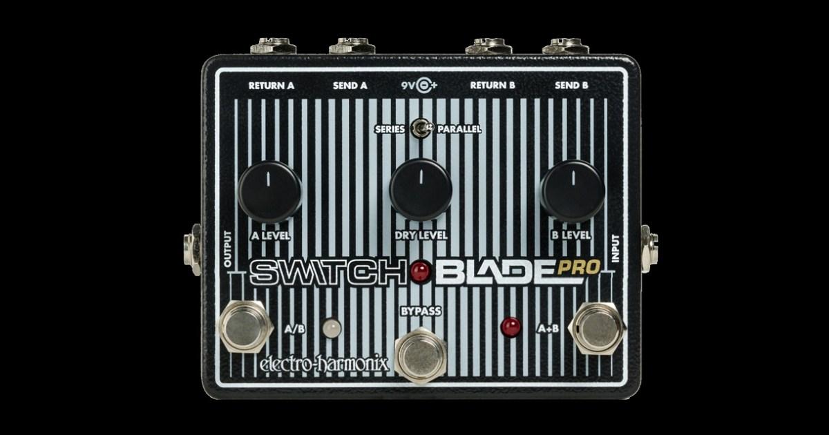electro harmonix now shipping switchblade pro pedal no treble. Black Bedroom Furniture Sets. Home Design Ideas