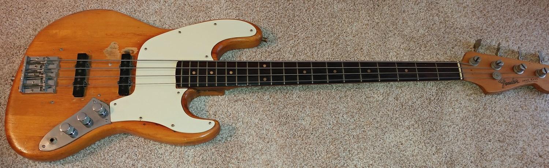 Gary Shea's 1965 L Series Fender Jazz Bass