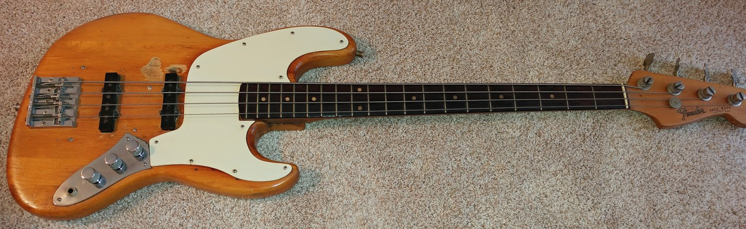 Gary Shea's 1965 L Series Fender Jazz Bass