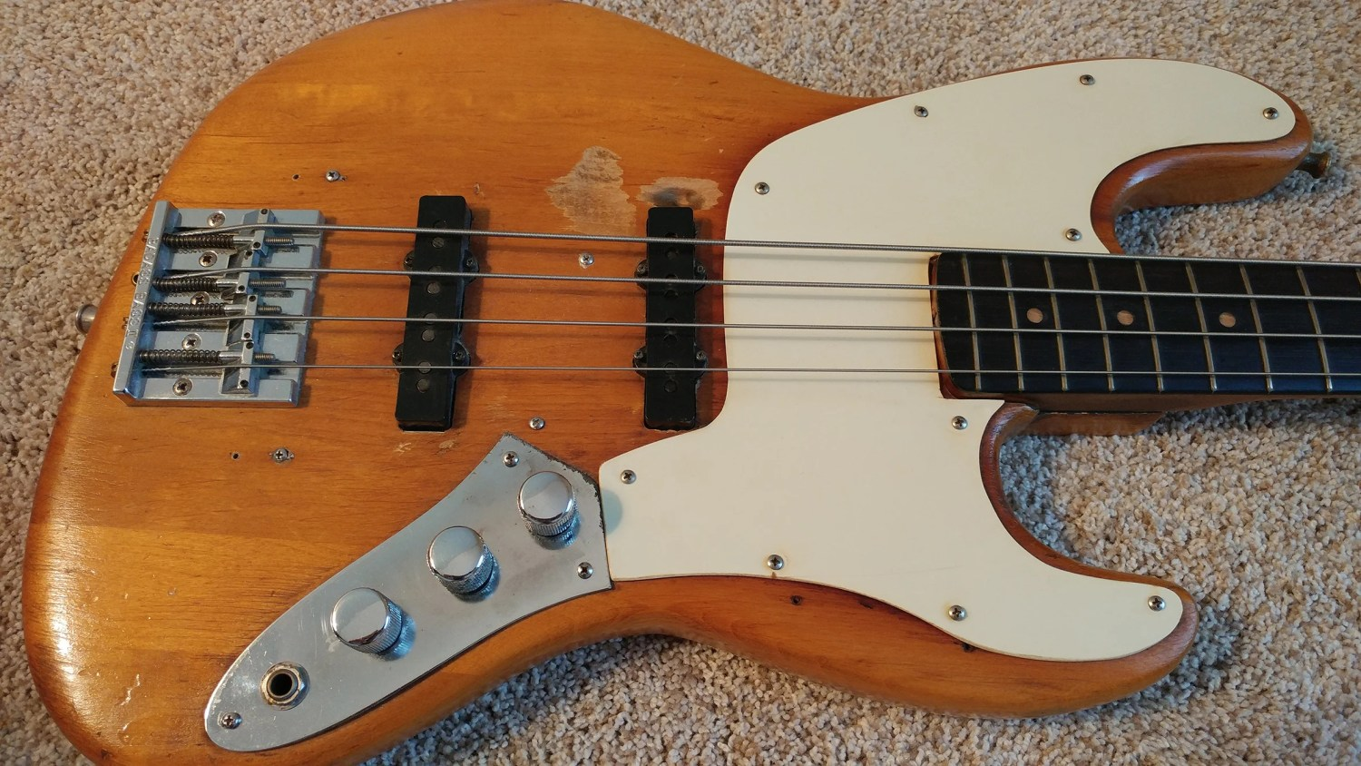 Gary Shea's 1965 L Series Fender Jazz Bass Body