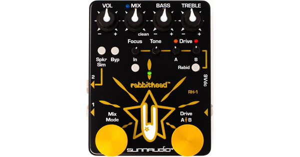Sunnaudio Introduces the Rabbithead RH-1 Preamp Pedal