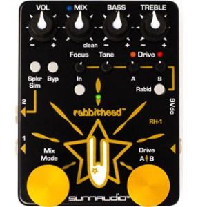 Sunnaudio Rabbithead RH-1 Preamp Pedal