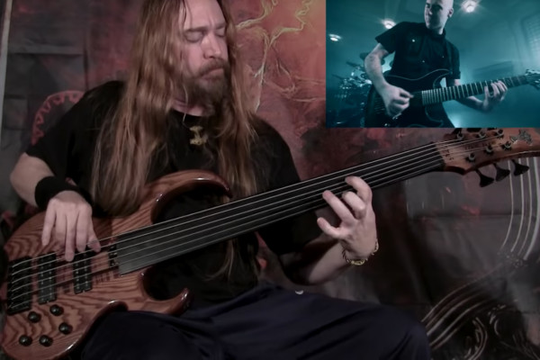 "Steve Di Giorgio: Bass Playthrough of Gone In April's ""The Curtain Will Rise"""