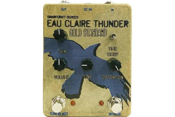 Dwarfcraft Devices Unveil Gold Standard Eau Claire Thunder Pedal