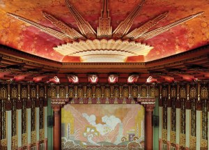 Wiltern Theater Ceiling