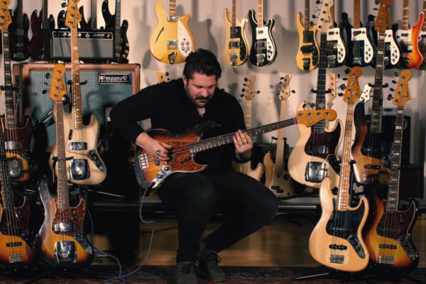 Marc Stranger-Najjar: History of the Fender Jazz Bass