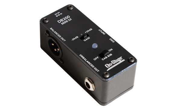 On-Stage Announces the DB200 Mini DI Box