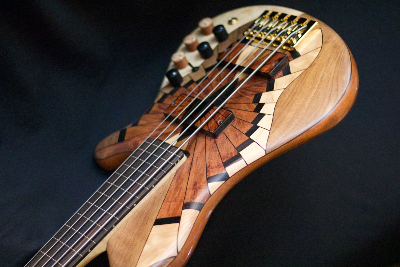 PHD Bass Guitars Kai Eckhardt Signature Bass Body Angle 2