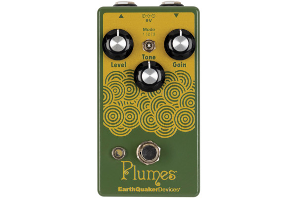 EarthQuaker Devices Announces The Plumes Pedal