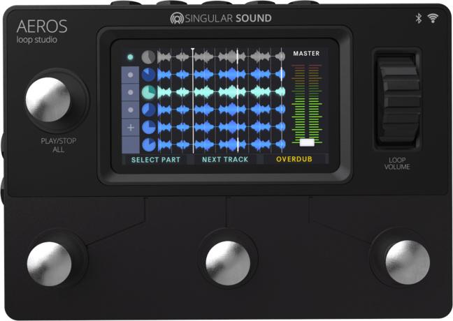 Singular Sound Aeros Looper Pedal