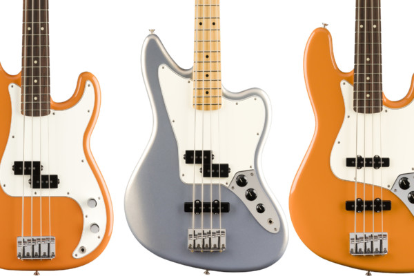 Fender Unveils New Player Series Bass Colors