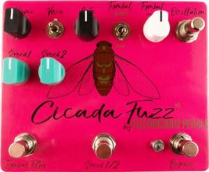 Fuzzrocious Pedals Cicada Fuzz Pedal